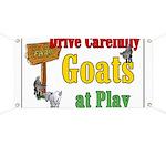 Goats at Play Banner