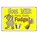 Goat Milk Fudge Banner