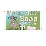 Goat Milk Soap Banner