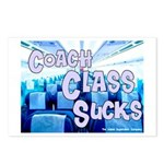 Coach Class Sucks Postcards (Package of 8)