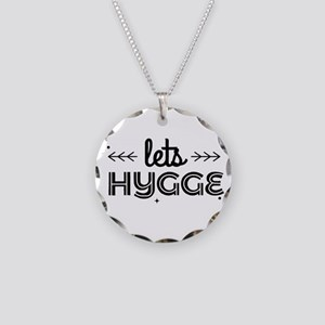 lets hygge Necklace Circle Charm