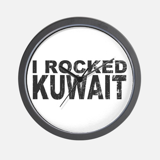 I Rocked Kuwait Wall Clock