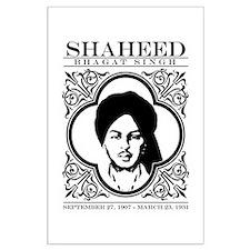 Shaheed Bhagat Singh. Large Poster