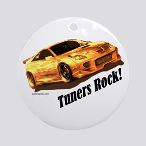 """""""Tuners Rock"""" Ornament (Round)"""