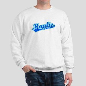 Retro Haylie (Blue) Sweatshirt
