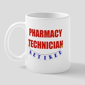 Retired Pharmacy Technician Mug