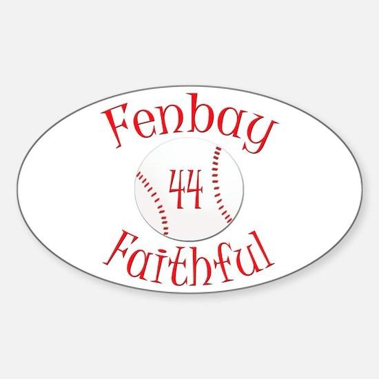 Fenbay Faithful Oval Decal