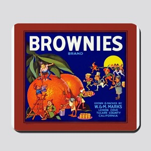 Brownies Brand Mousepad