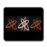 ATHEIST ORANGE Mousepad