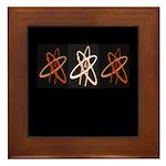 ATHEIST ORANGE Framed Tile