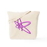 ATHEIST SYMBOL IN PINK Tote Bag
