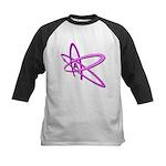 ATHEIST SYMBOL IN PINK Kids Baseball Jersey