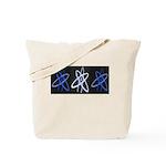 ATHEIST BLUE Tote Bag