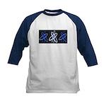 ATHEIST BLUE Kids Baseball Jersey