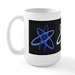 ATHEIST BLUE Large Mug