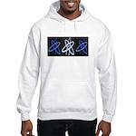 ATHEIST BLUE Hooded Sweatshirt