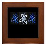 ATHEIST BLUE Framed Tile