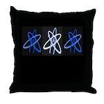 ATHEIST BLUE Throw Pillow