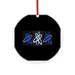 ATHEIST BLUE Ornament (Round)