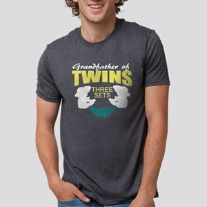 grandfather of twins 3 sets T-Shirt