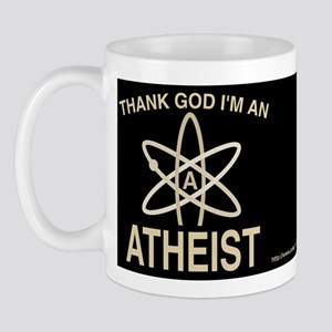 THANK GOD I'M ATHEIST DARK Mug