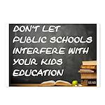 PUBLIC SCHOOLS Postcards (Package of 8)