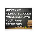 PUBLIC SCHOOLS Throw Blanket