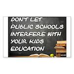 PUBLIC SCHOOLS Sticker