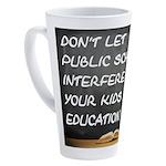 PUBLIC SCHOOLS 17 oz Latte Mug