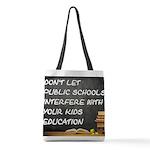 PUBLIC SCHOOLS Polyester Tote Bag