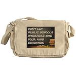 PUBLIC SCHOOLS Messenger Bag
