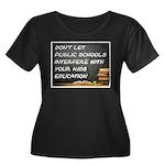 PUBLIC SCHOOLS Plus Size T-Shirt