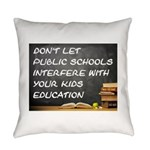 Public Schools Everyday Pillow