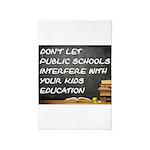 Public Schools 4' X 6' Rug