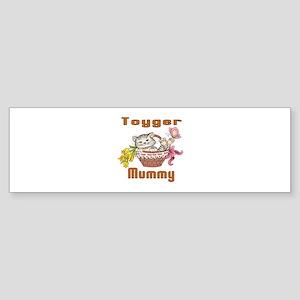 Toyger Cats Mummy Sticker (Bumper)