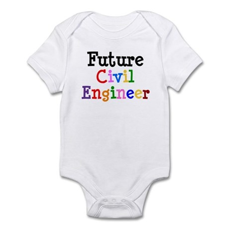 Civil Engineer Infant Bodysuit