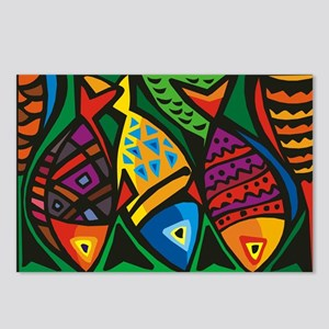Stop Light Fish Postcards (Package of 8)
