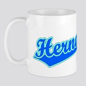 Retro Hernandez (Blue) Mug