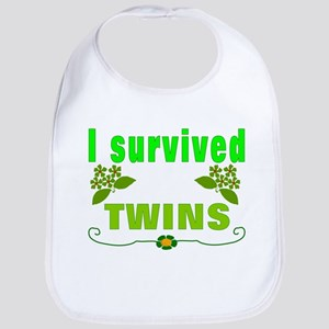 Twins survivor Baby Bib