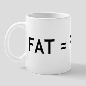 Fat = Flavor Mug