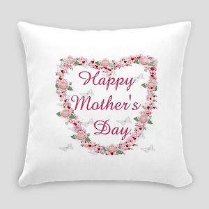 Cherry Blossom Heart For Mom Everyday Pillow
