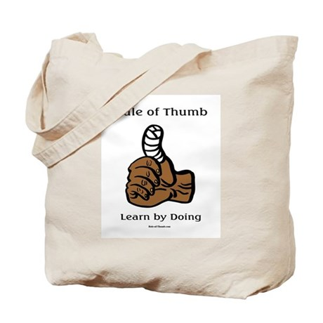 Learn by Doing Tote Bag