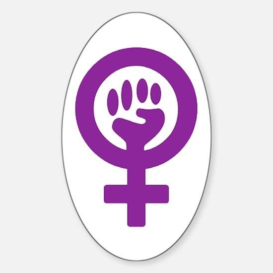 Femifist Sticker (Oval)