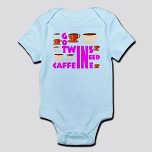 Twins and caffeine Body Suit