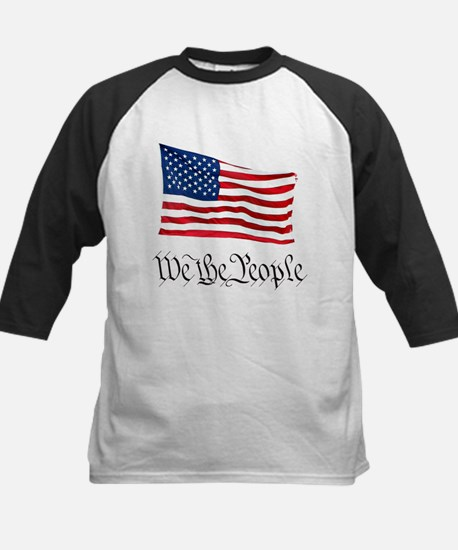 W.T.P. W/Flag Kids Baseball Jersey