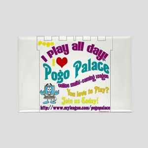 POGO PALACE Rectangle Magnet (10 pack)