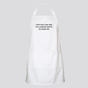 I don't have a beer belly. BBQ Apron