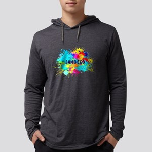 SAN DIEGO BURST Long Sleeve T-Shirt