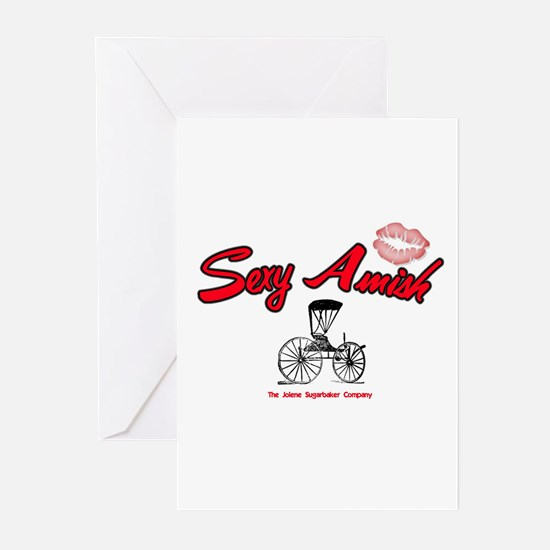 Sexy Amish Greeting Cards (Pk of 10)
