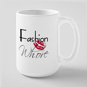 Fashion Whore Large Mug